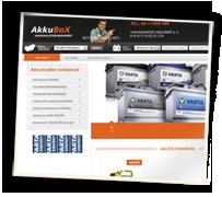 Akkubox.hu webshop