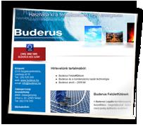 Buderus hírlevél