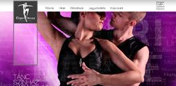 Experidance Produkció weboldal