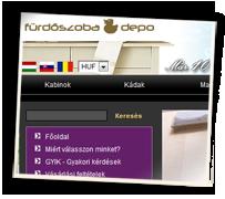 Furdoszobadepo webáruház
