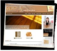 Parketta.net weboldal
