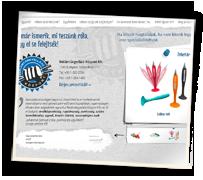 Reklámtárgyellátó Kft. weboldala