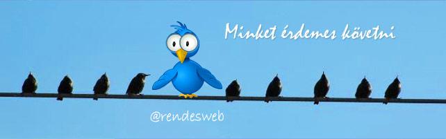 Rendesweb twitter